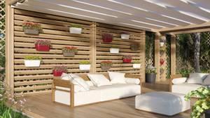 Bilde av Algarve Veggpotte Hvit 40 cm