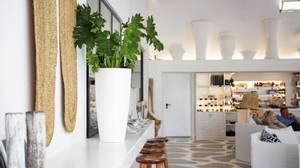 Bilde av Design Potte Santorini Hvit 65cm