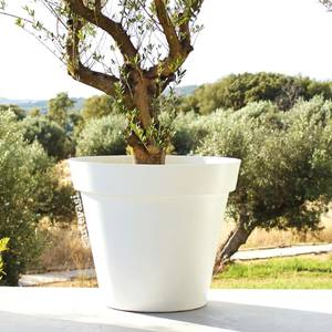 Bilde av Capri Potte Hvit 60cm