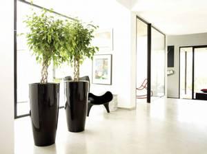 Bilde av Design Potte Santorini Antrasitt 65cm